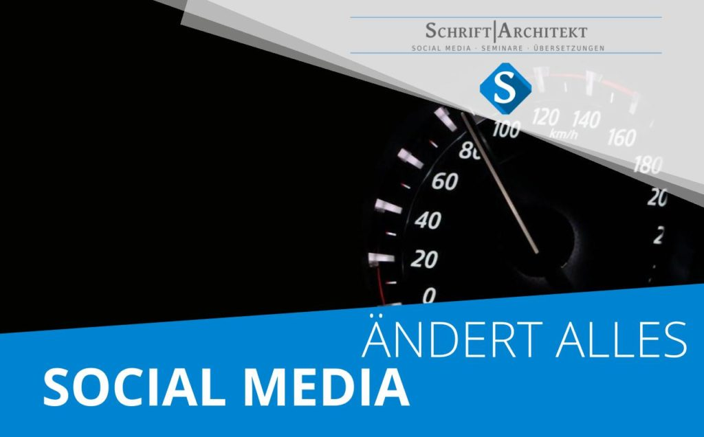 Agentur Schrift-Architekt.de Social Media und Seminare zum Thema uber ist ueberall