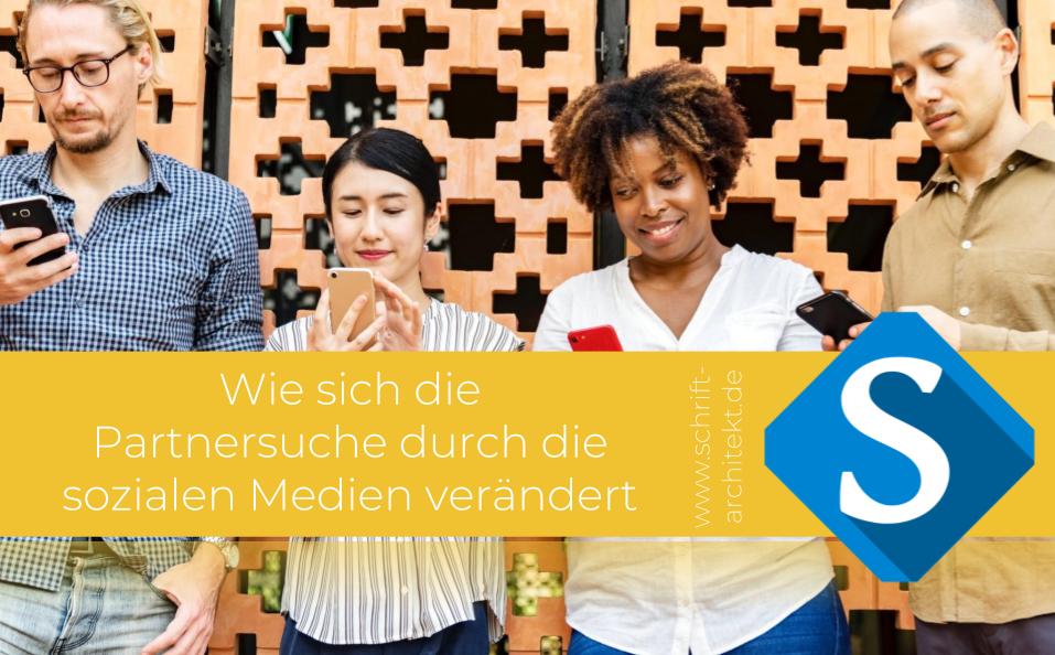 Schrift-Architekt.de Blogcover Podcasthinweis zum Thema dating online