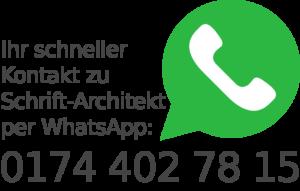 Schrift_Architekt.de-WhatsApp-Banner