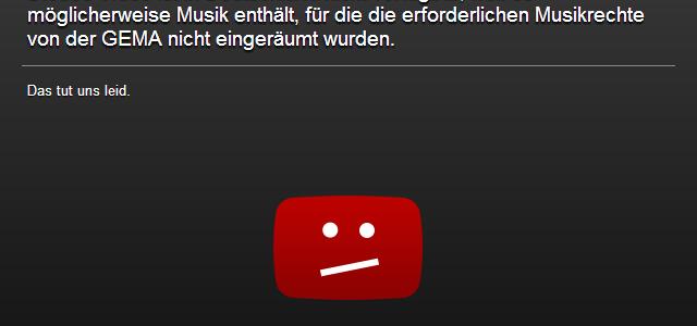YouTube und GEMA haben sich geeinigt