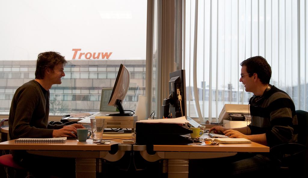 Coworking Spaces erlauben gemeinsames und kollaboratives Arbeiten.