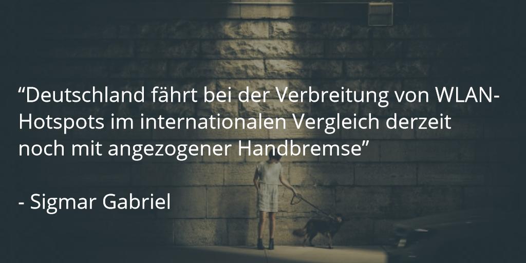 gabriel spd zitat deutschland wlan wifi