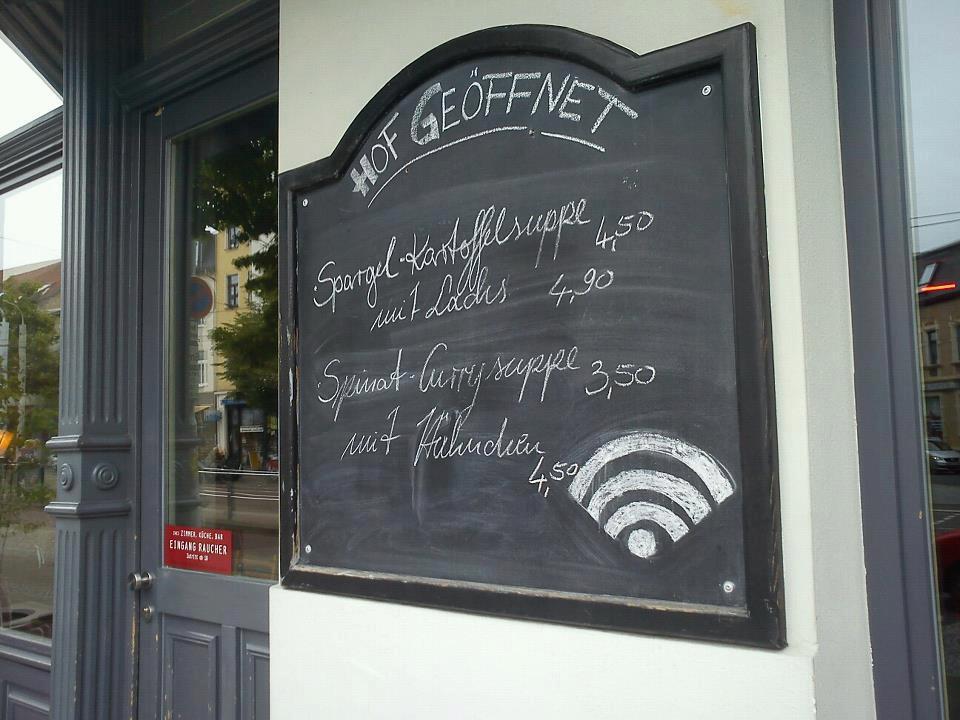 Gastronomisch einwandfrei, der Empfang? Rechtlich unsicher. (c)Schrift-Architekt