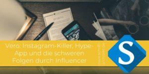 Agentur Schrift-Architekt.de Blogcover für Social Media & Seminare zum Thema Vero