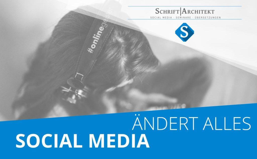 Agentur Schrift-Architekt.de Podcasthinweis zum Thema onlinegeister radio