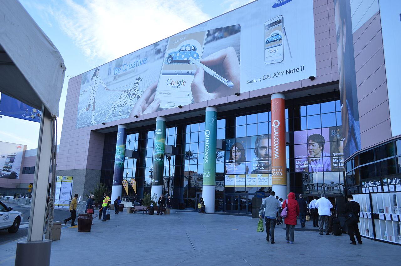 Eingang zum Las Vegas Convention Center (Bild: CC BY-SA 2.0).