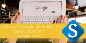 Schrift-Architekt.de Blogcover für Social Media & Seminare zum Thema Google Daten Fußabdruck