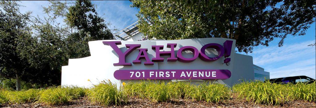 Yahoo - muss das Schild bald ausgetauscht werden? (CC BY-SA)