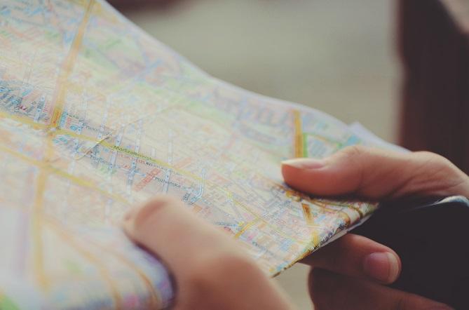 Karten haben schon immer der Orientierung gedient.